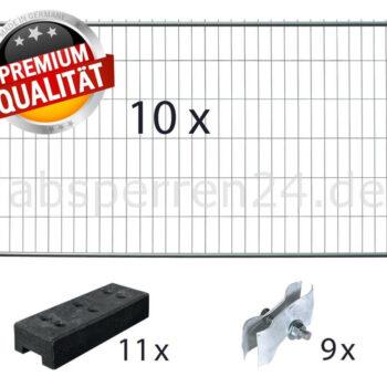 Mobilzaun / Bauzaun Pakete / Set