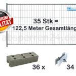 Bauzaun Set / Paket   35 Stk classic 2