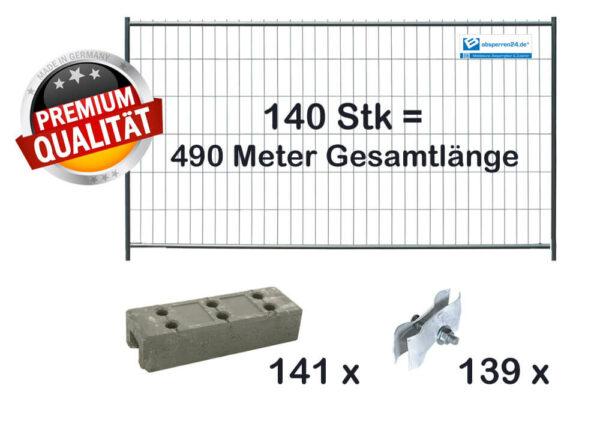 Baustelleneinrichtung Paket | 140 Stk light