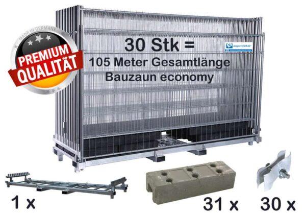 bauzaun_komplettpaket_economy_transportpalette_betonfuesse